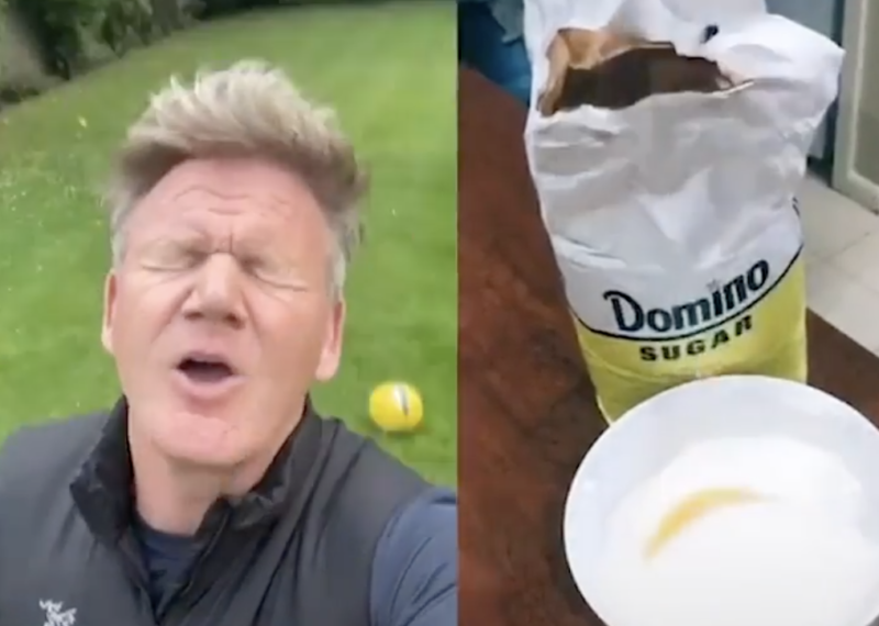 Gordon Ramsay reacts in horror to American mum's attempt at British Fish & Chips, The Manc