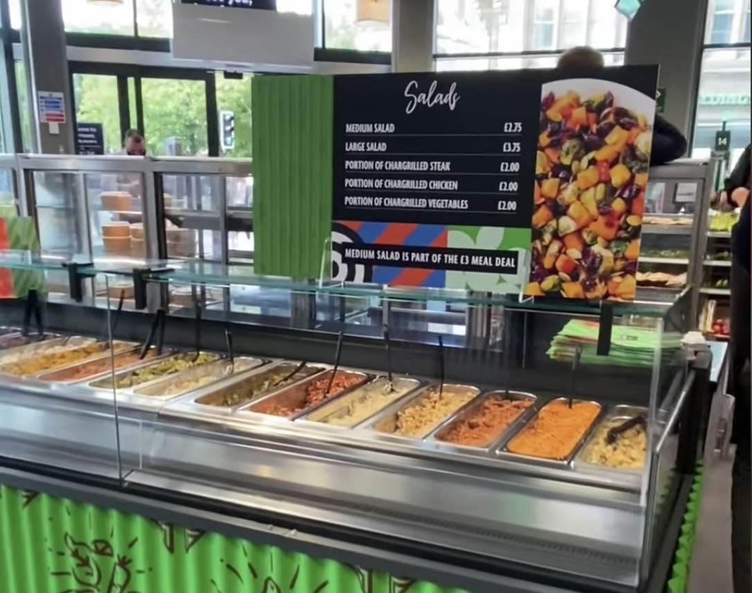 Morrisons' Piccadilly Gardens store opens new Market Kitchen – with pizza, pies and paella all on the menu, The Manc
