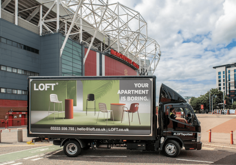 Spot a lorry, win a holiday: LOFT's new competition is a corker, The Manc