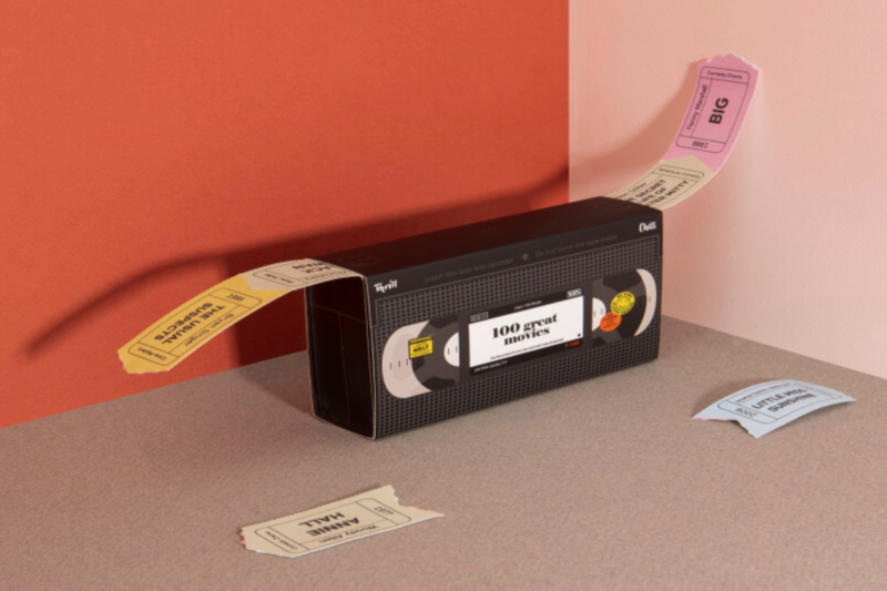 This film ticket box has 100 movie suggestions to stop couples rowing over what to watch, The Manc