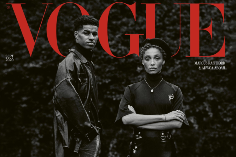 Marcus Rashford to appear on the cover of British Vogue this month to celebrate activism, The Manc