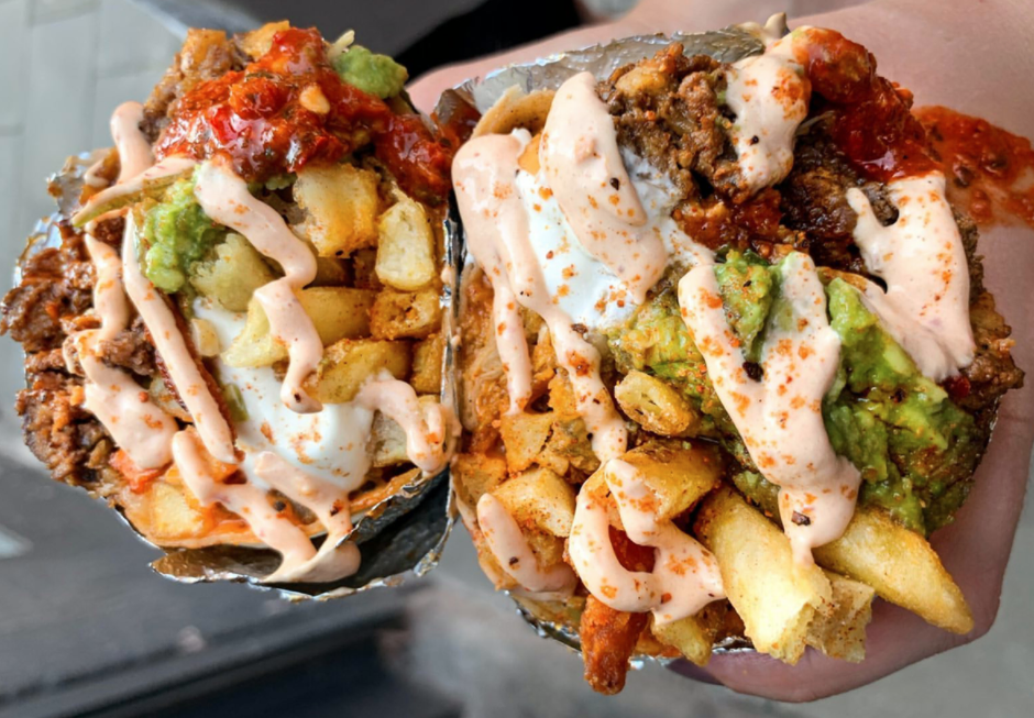 Almost Famous and Luck, Lust, Liquor & Burn team up for 'Cali Screamin' burrito, The Manc