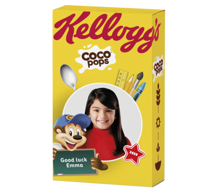 Parents can get personalised 'back to school' cereal box covers for their kids, The Manc