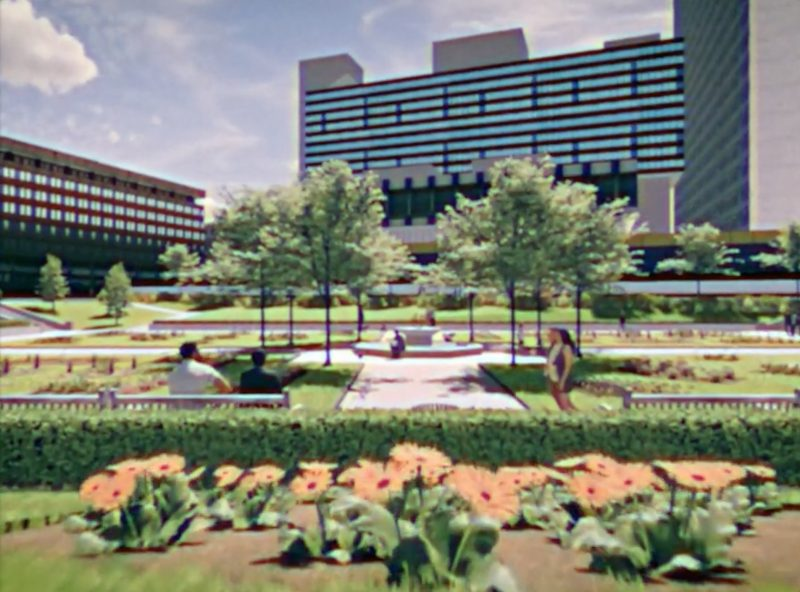 Someone has created a VR walkthrough of a 1979 Piccadilly Gardens in Manchester, The Manc