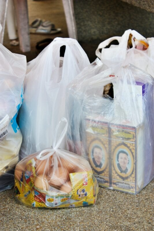 Price of plastic bags in England to double in 2021, The Manc