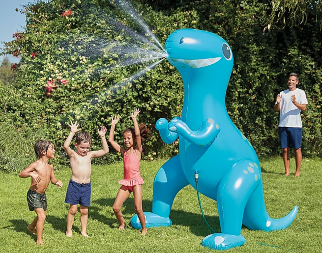 Asda is selling a huge 7ft dinosaur sprinkler just in time for this weekend's sunshine, The Manc