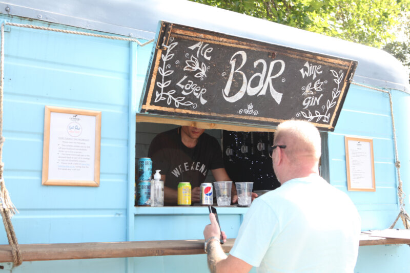 Residents in Urmston are being urged to continue supporting local businesses at pop-up markets, The Manc