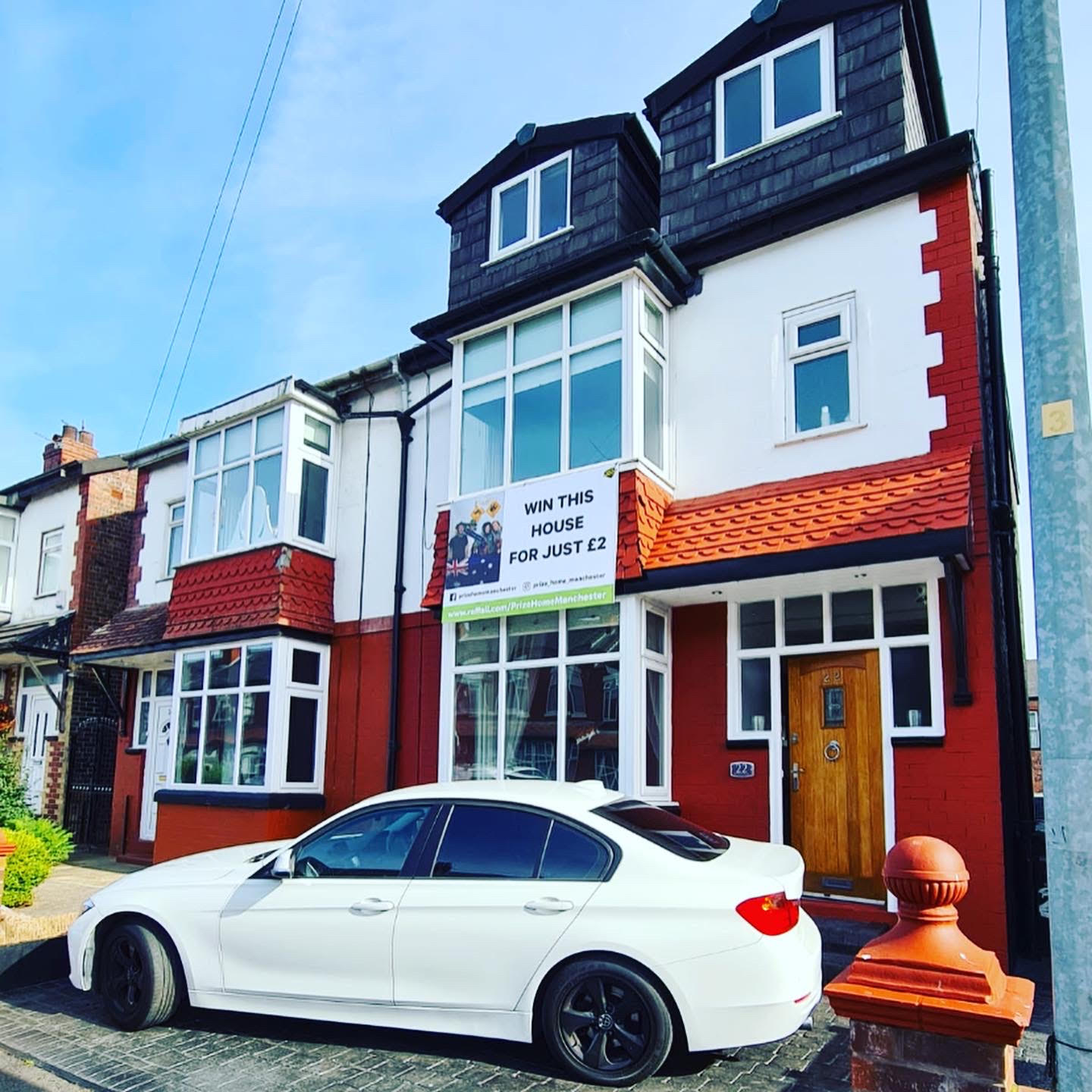 A Salford family are selling their 5-bed house and BMW for £2 – and you can buy a ticket, The Manc