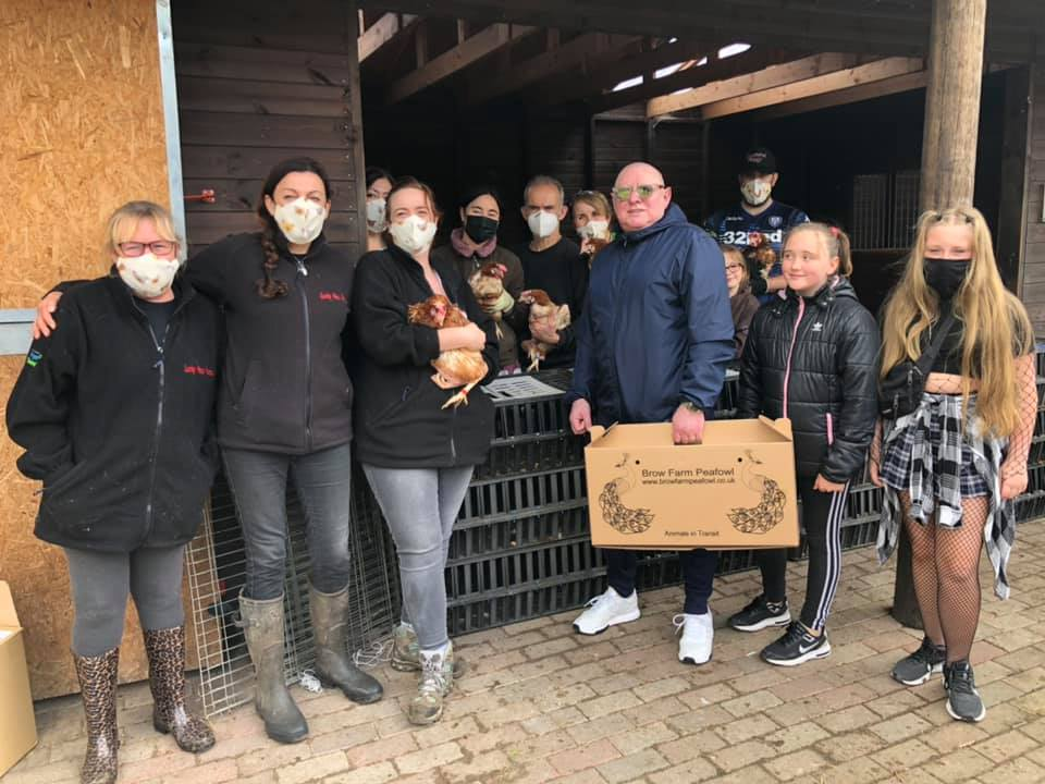 Shaun Ryder is saving hens from slaughter at a Wigan animal sanctuary, The Manc