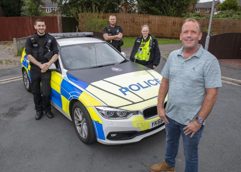 Man who suffered heart attack at the wheel given life-saving medical assistance by GMP officers, The Manc