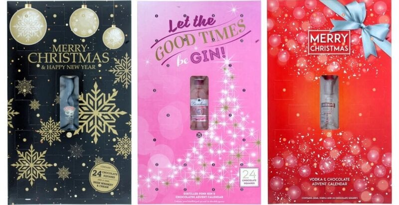 B&M has started selling Baileys, Gordon's gin and Smirnoff advent calendars again, The Manc