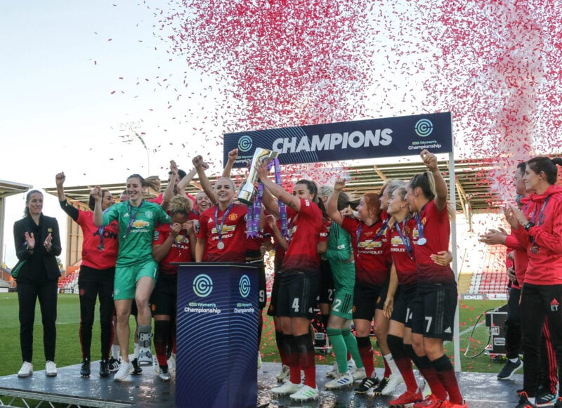 Can the Manchester United Women's team break into the top three?, The Manc