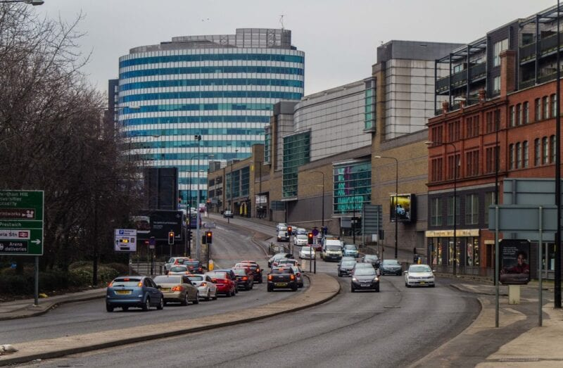 Large section of Manchester ring road closed this week for tower demolition, The Manc
