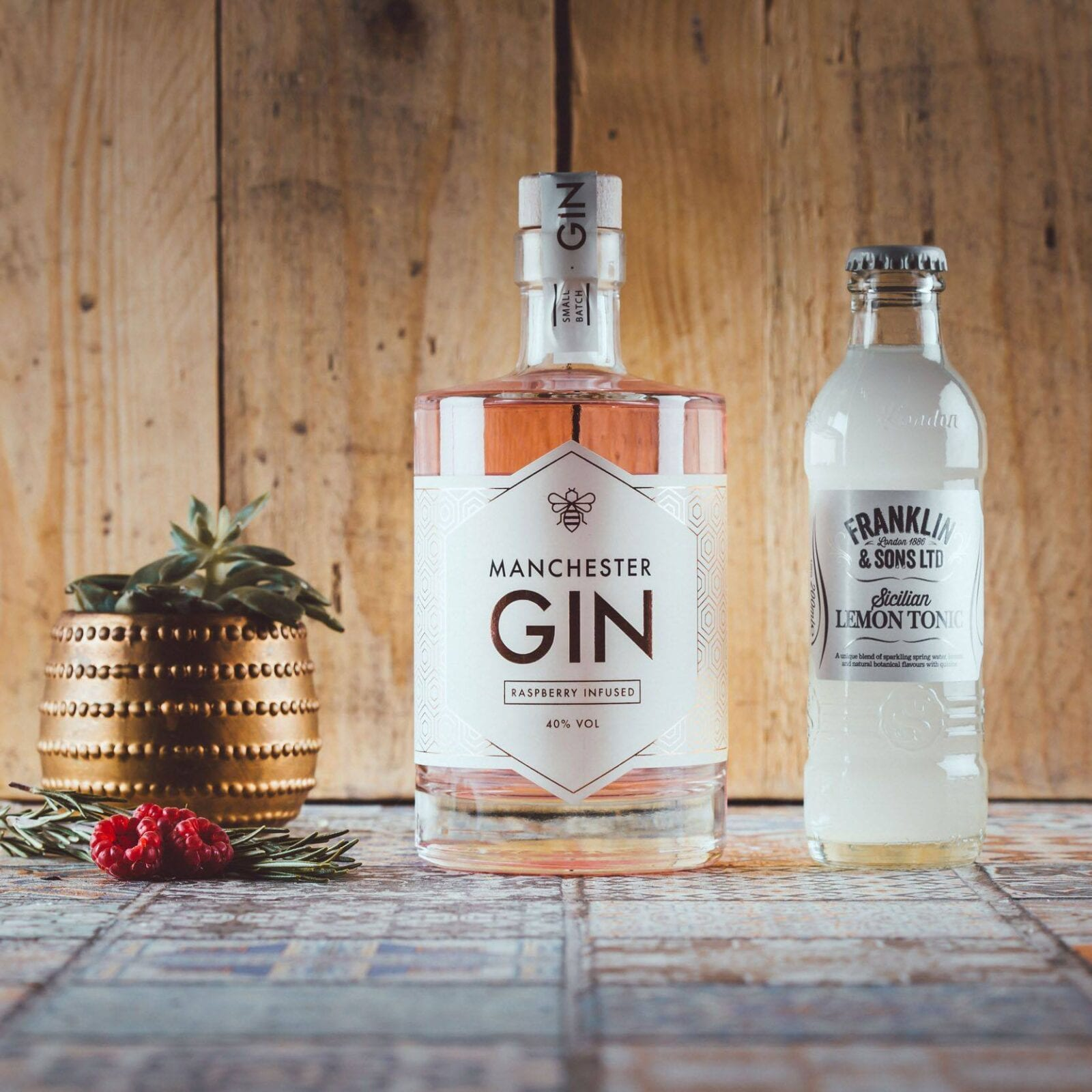 Franklin & Sons and Manchester Gin bring Raspberry G&T to the north, The Manc