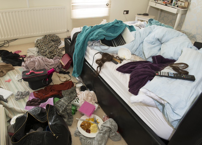 There's a competition to find the messiest bedroom in the UK and you can win a free bed, The Manc