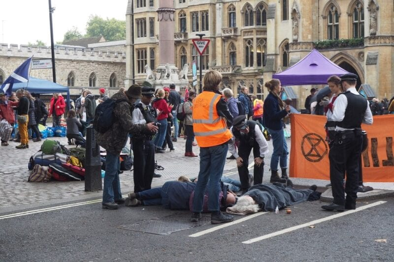 Police chief tells XR protestors to 'stop being floppy' as it's a 'flipping nuisance', The Manc