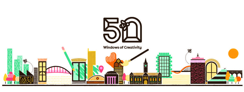 Manchester's new '50 Windows of Creativity' art trail is opening next Monday, The Manc