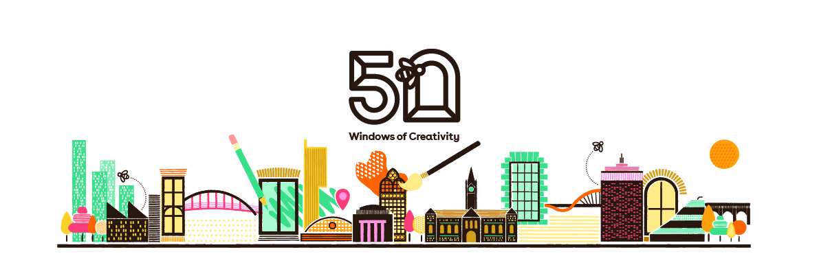 There's a '50 Windows of Creativity' art trail coming to Manchester this autumn, The Manc