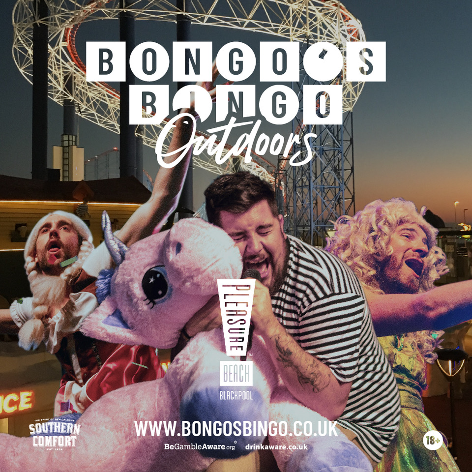 Bongo's Bingo is hosting fully open-air shows at Blackpool Pleasure Beach this month, The Manc