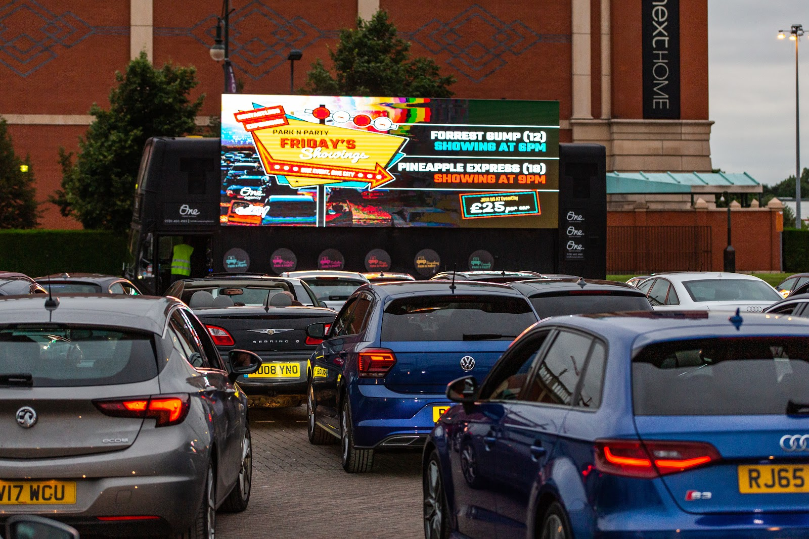 More movies and showtimes added to Manchester's epic drive-in cinema this week, The Manc