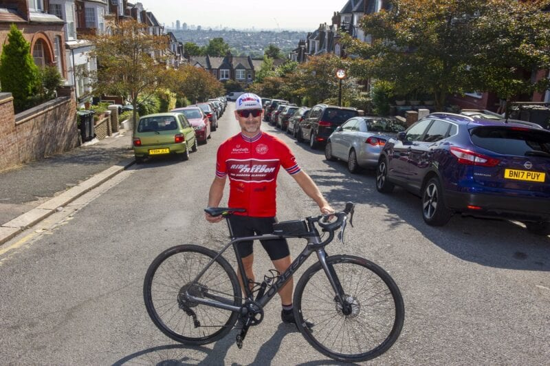 This Manchester cyclist is attempting to set a new world record and help 'end modern slavery', The Manc