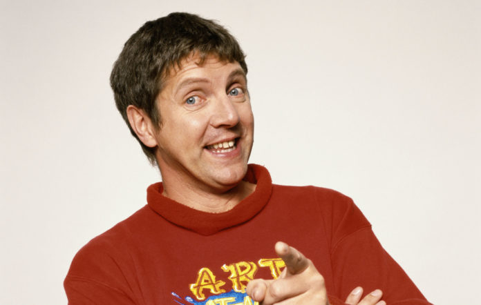 There's a wild conspiracy theory circulating that Neil Buchanan from Art Attack is Banksy, The Manc