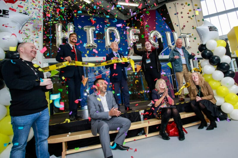 New Manchester youth charity HideOut Youth Zone officially opens in Belle Vue, The Manc
