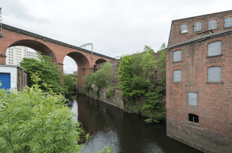 A canal-side food and music event is coming to Stockport's Weir Mill this weekend, The Manc