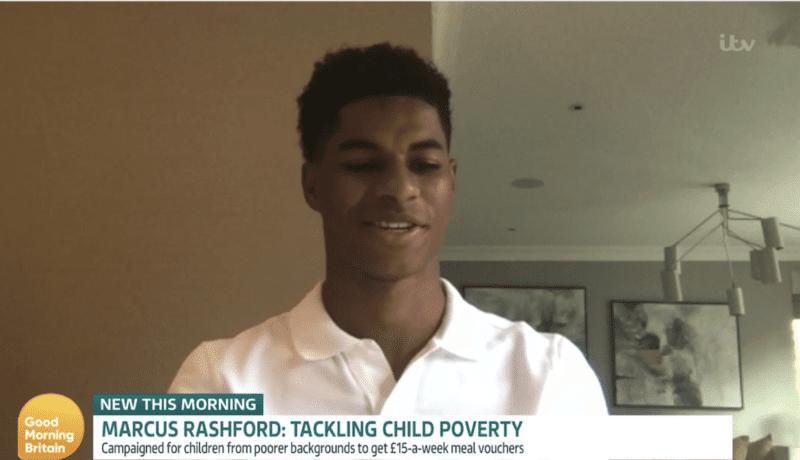 Marcus Rashford says he wants to 'kill the stigma' of asking for help, The Manc