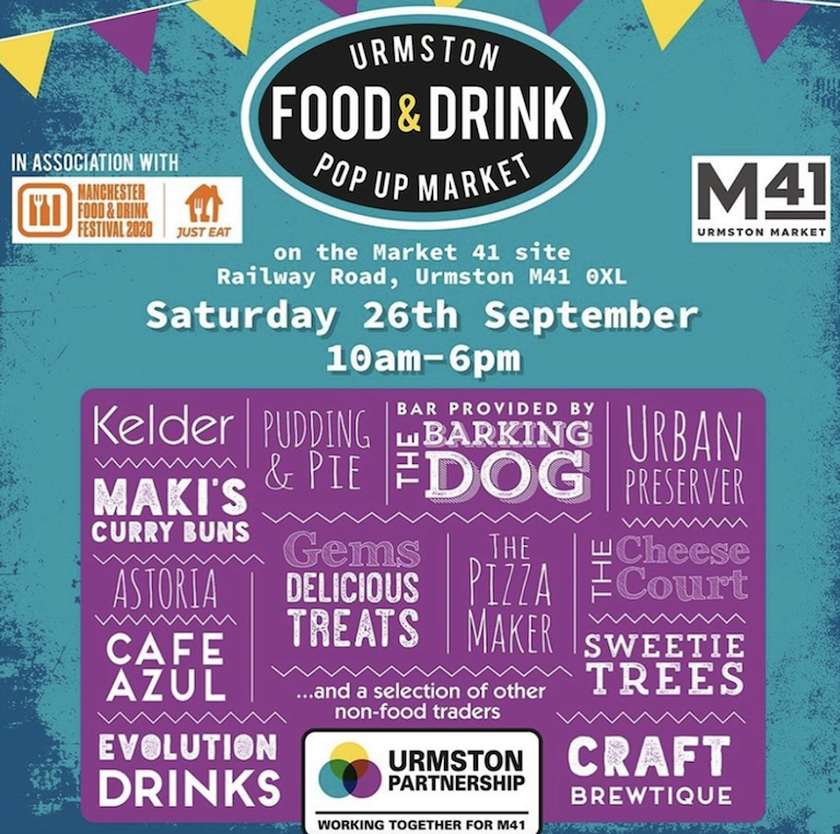 Urmston traders announce launch of local pop-up Food & Drink Festival, The Manc