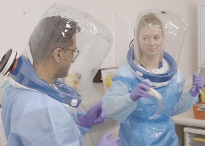 Frontline medical staff in Manchester design 'breakthrough' PPE respirator, The Manc