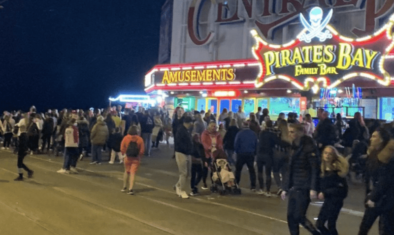 Massive crowds flock to Blackpool over weekend despite warnings to stay away, The Manc