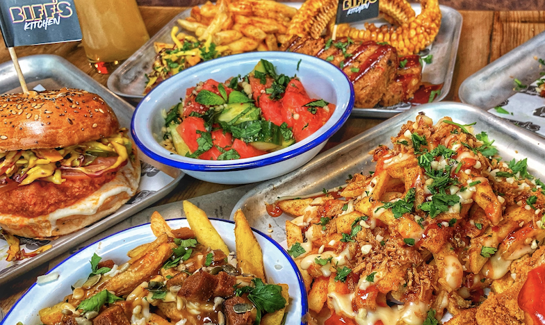 London's wildly popular vegan junk food brand Biff's is coming to Manchester, The Manc