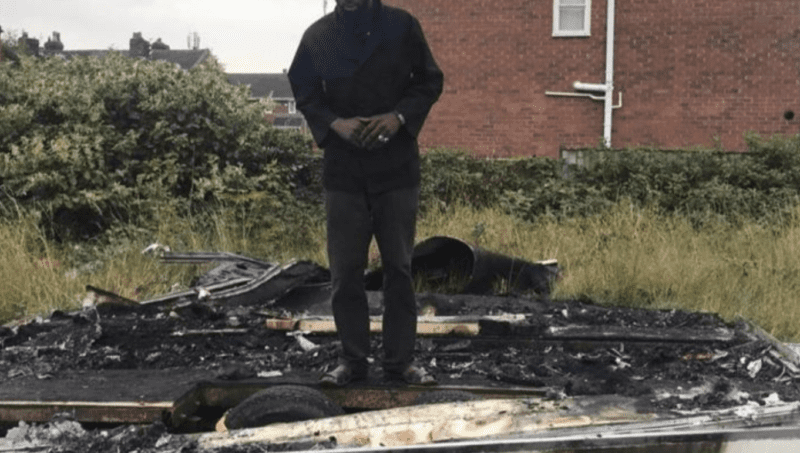 Local chef raises £29,000 after his catering van was set alight in 'racist attack', The Manc
