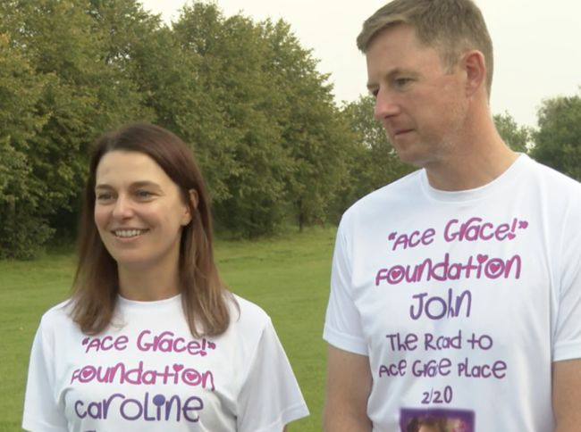 Salford parents walk 120 miles to raise money in memory of their daughter, The Manc