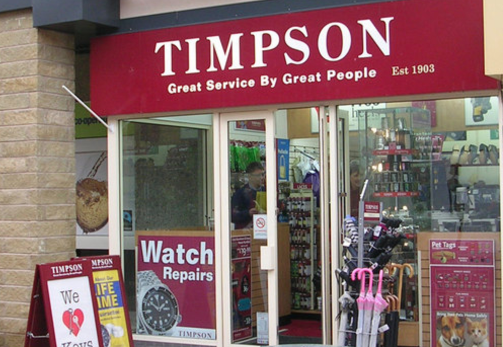 Timpson's brilliant 'back to school' benefit explains why shops might be short staffed this week, The Manc