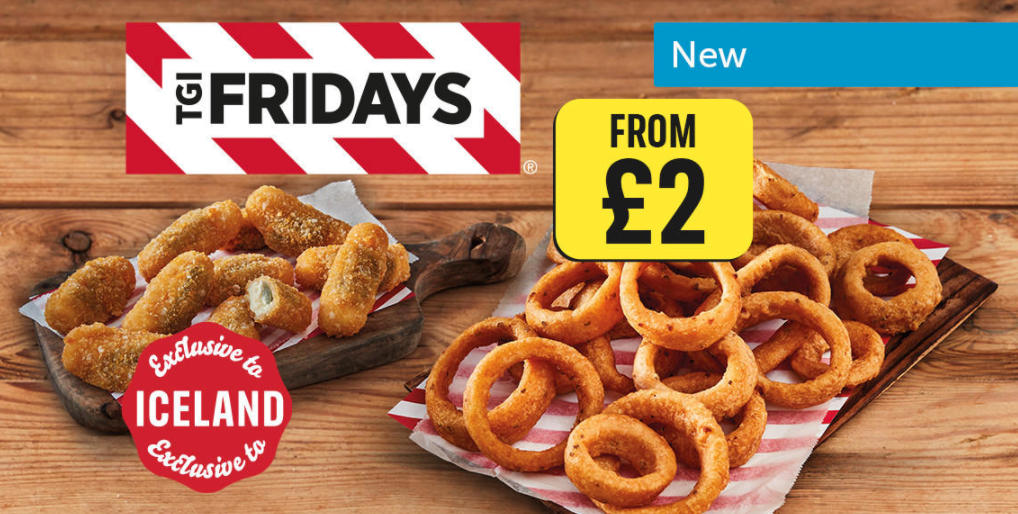 Iceland has just launched an exclusive new TGI Fridays range, The Manc