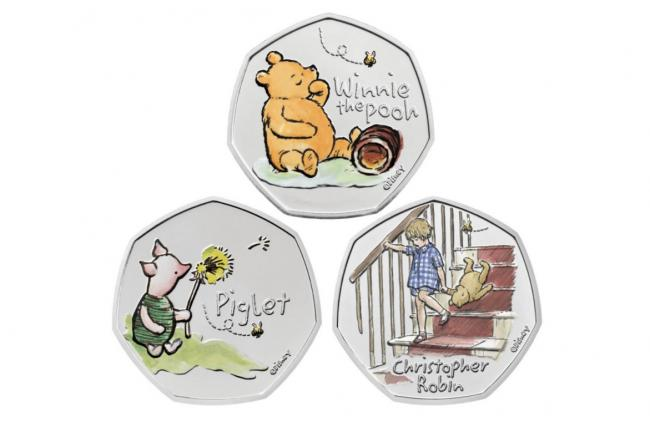 The Royal Mint and Disney team up on limited edition Winnie the Pooh 50p coins, The Manc