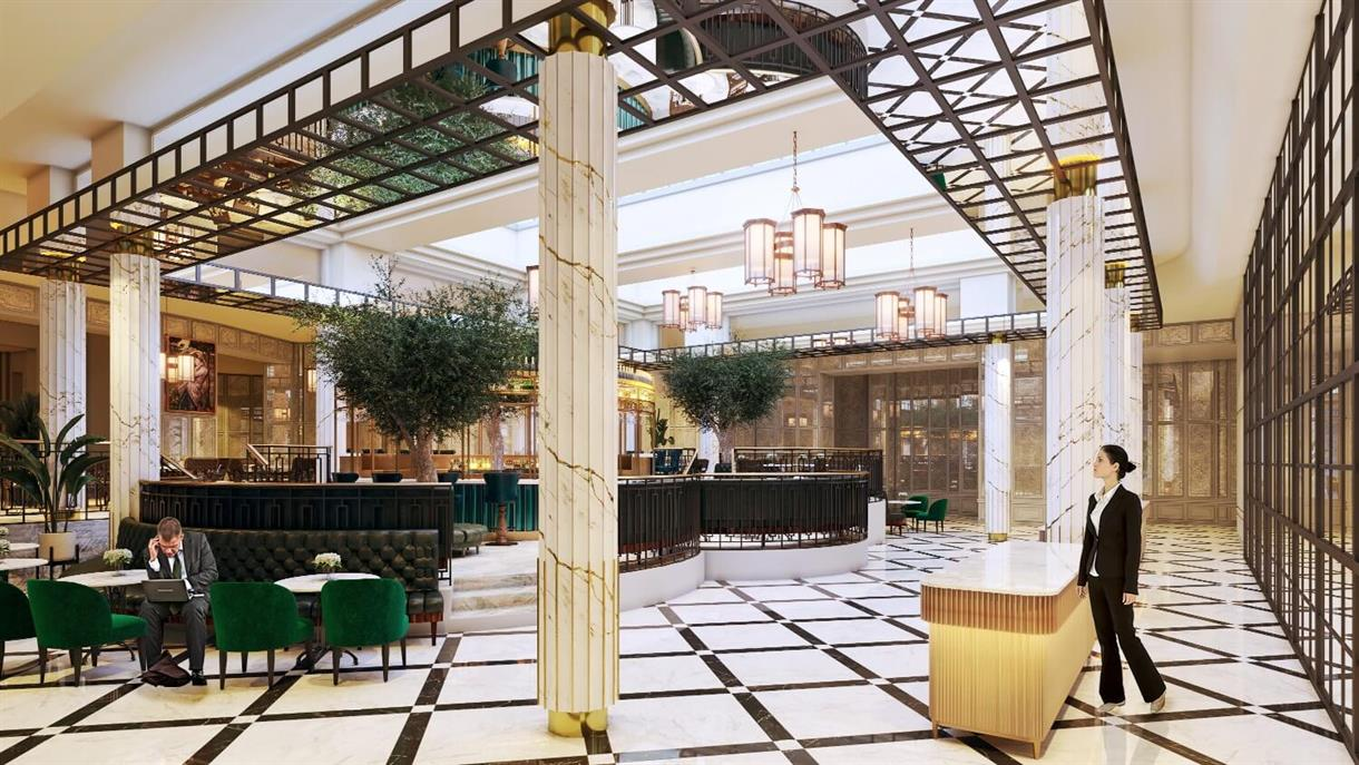 First look pictures of Midland Hotel's refurbishment and relaunch date revealed, The Manc