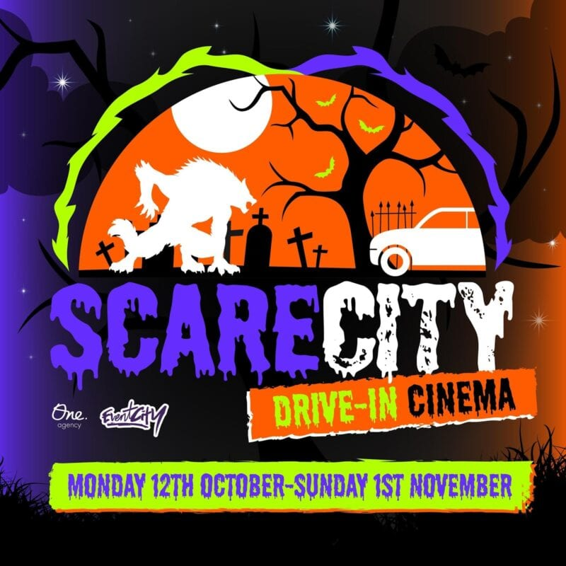 New movies added to immersive drive-in cinema experience 'Scare City', The Manc
