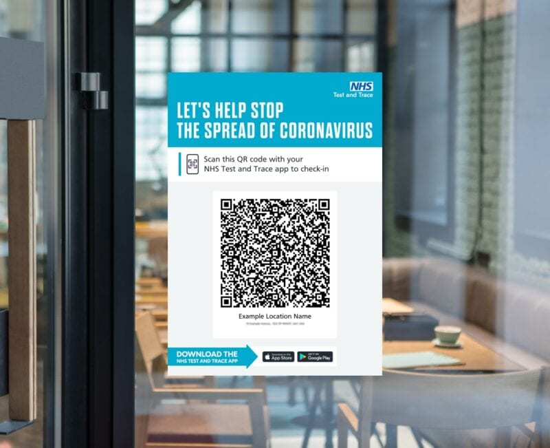 New law says venues must enforce Rule of Six and display QR codes or face £4,000 fine, The Manc