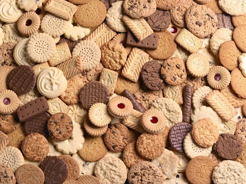 Britain's favourite biscuits have been revealed in a new poll, The Manc