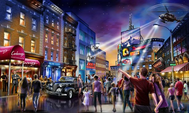 Latest released images of 'UK Disneyland' offer sneak peak at rides and themed attractions, The Manc