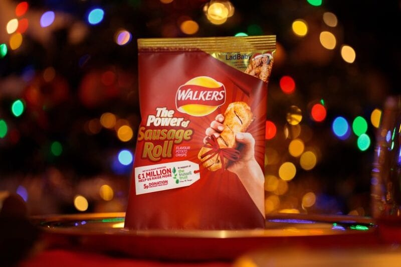 Walkers release sausage roll-flavoured crisps in time for Christmas, The Manc