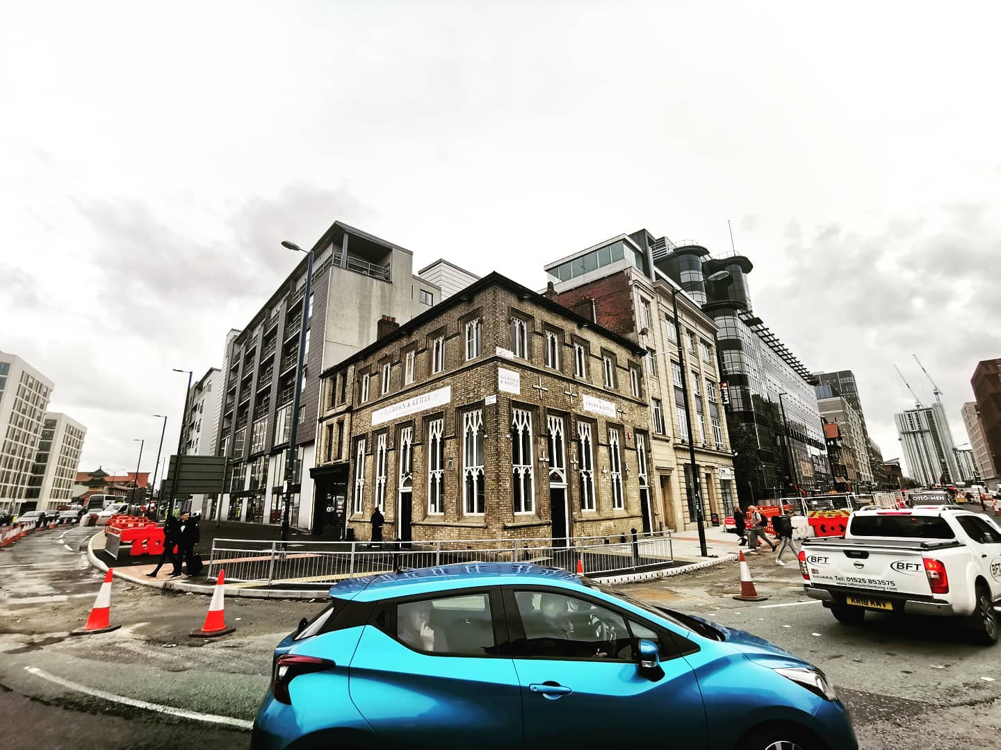 One of Manchester's oldest and most famous pubs has been completely refurbished, The Manc