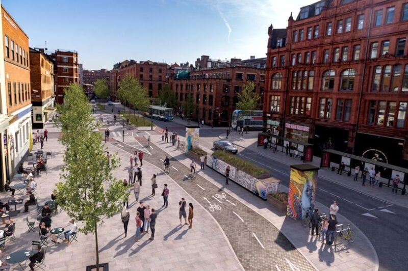An £85 million 'cycling boom' project is planned for Greater Manchester by 2021, The Manc