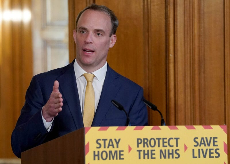 Dominic Raab accuses Manchester of 'pulling up the drawbridge' as tier row rages on this morning, The Manc