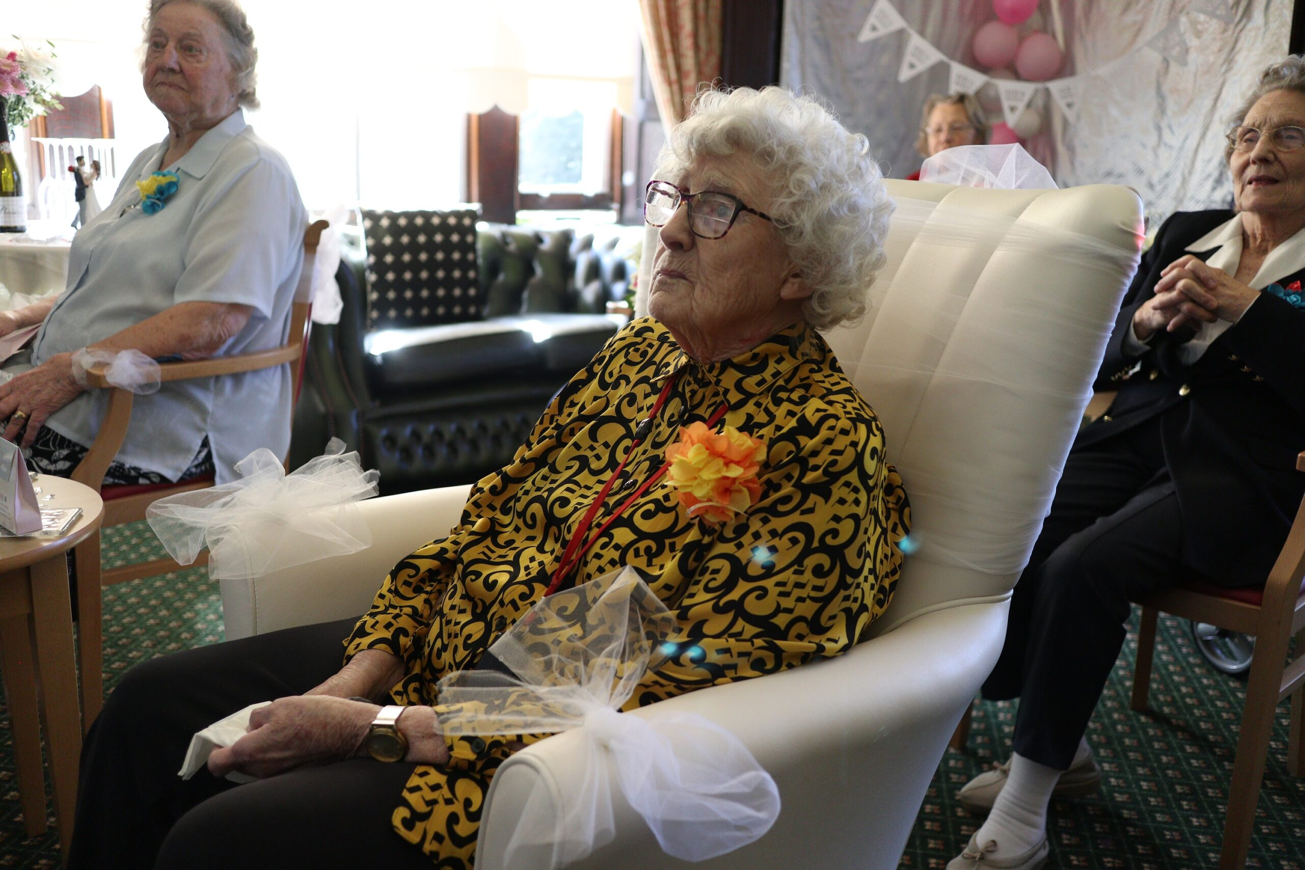 Grandma, 91, watches live stream of granddaughter's wedding from care home, The Manc
