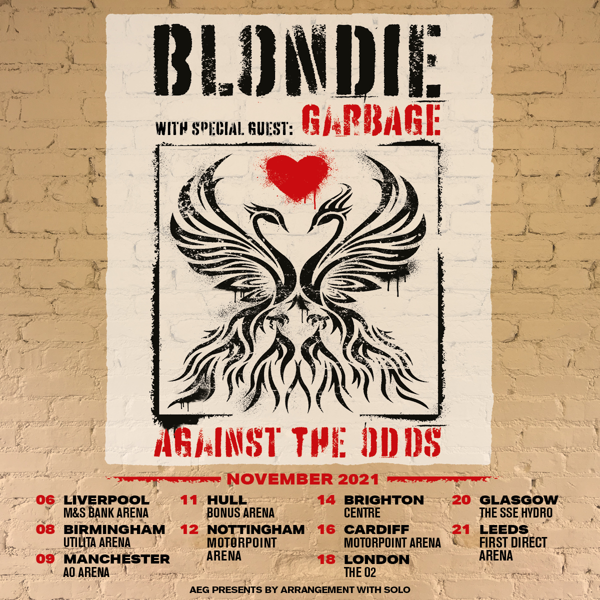 Blondie announce first UK tour for four years – including a date at Manchester's AO Arena, The Manc