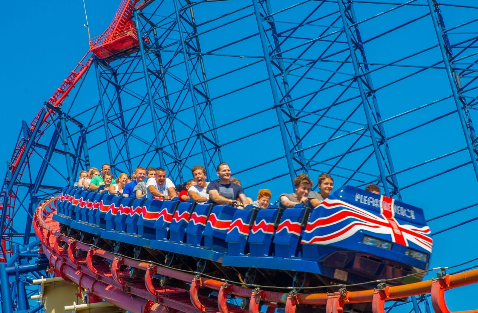 Blackpool Pleasure Beach launches new 'Platinum Pass' giving visitors unlimited access to the park, The Manc